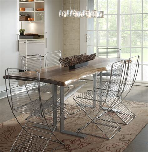 rustic modern dining room tables modern rustic dining table dining room contemporary with
