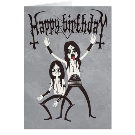 Metal Birthday Card Heavy Metal Birthday Cards Gangcraft Net