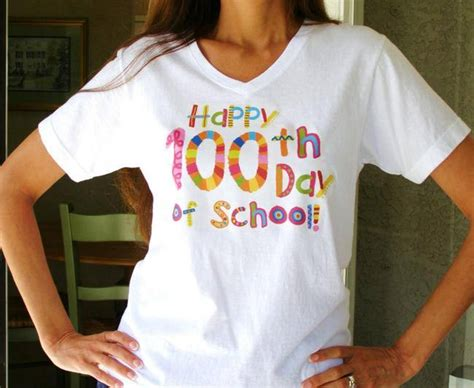 free t shirt transfer templates 70 popular 100 days of school activities crafts tip junkie