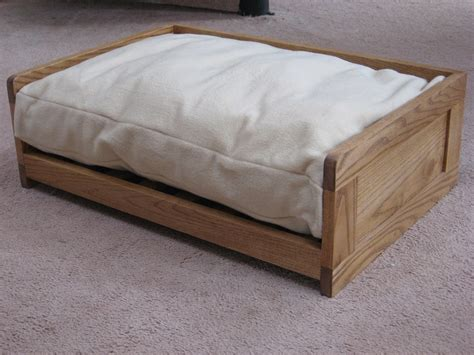 wooden dog bed ash wooden dog bed