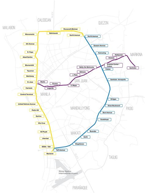 Layout Artist Hiring Metro Manila | metro manila lrt mrt map by pharan design on deviantart