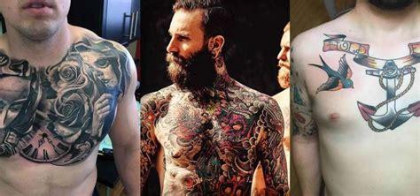 tatuaggi fiori maschili tatuaggi maschili sul petto i disegni a cui ispirarsi