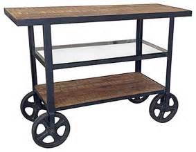 Rolling Kitchen Island Cart by Rolling Island Cart Industrial Kitchen Islands And
