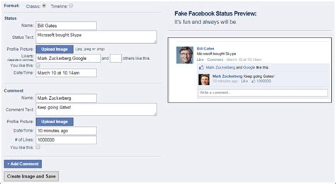 fake facebook post template page template template for