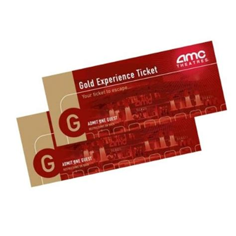 Movie Gold Pass Gift Cards - 2 amc gold movie tickets 13 reg 24 mybargainbuddy com