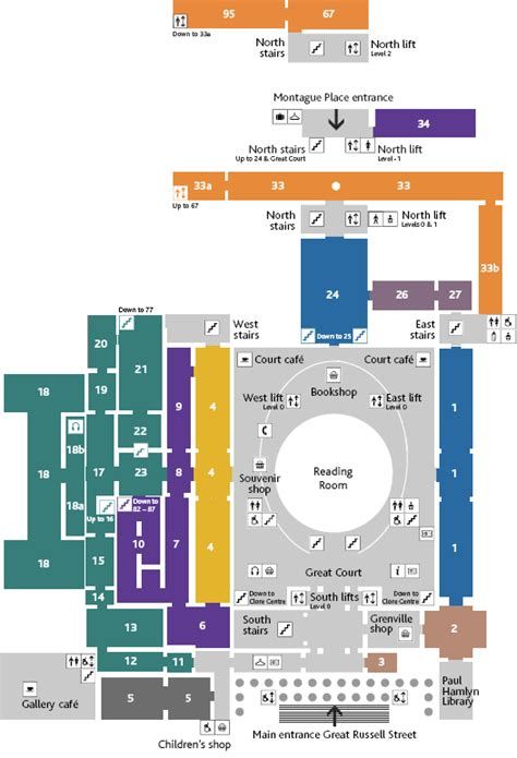 british museum floor plan archived content british museum ground floor