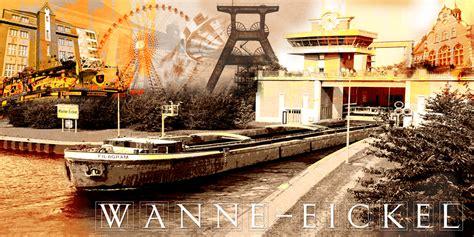 Italiener Wanne Eickel Wanne Eickel Collage Quer Fritzart Shop