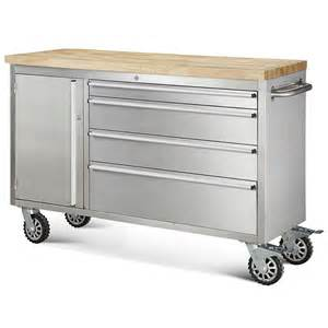 Metal Drawers For Kitchen Cabinets Hewetson Tool Chests 48 Quot 4 Drawer And Cabinet Rolling Metal Tool Chest