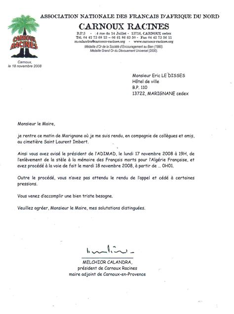 Exemple De Lettre Administrative Education Nationale Exemple De Lettre De Demission D Un Conseil D Administration