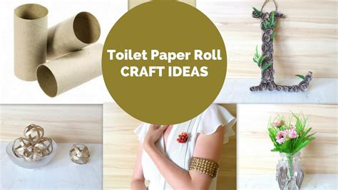Toilet Paper Craft Ideas - 5 creative toilet paper roll crafts diy toilet paper