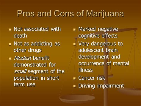 18 Pros And Cons Of Birth Pills by Marijuana Pros And Cons A Prescription For