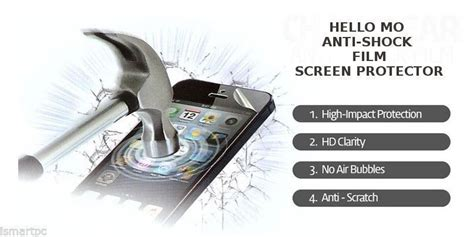 Antigores Antishock Screen Protector For Iphone 8 1 iphone 6 antishock screen protector application no mess for sale item 1097831