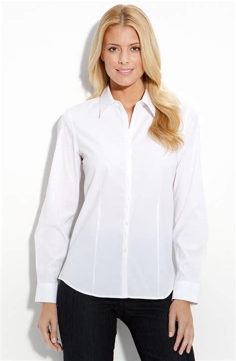 Blouse Simply Line foxcroft blouses on sale chevron blouse