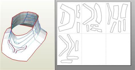 Iron Man Mark 4 6 Pepakura Foam Templates Video Tutorial Link In First Post Craft Ideas Iron Helmet Template Pdf