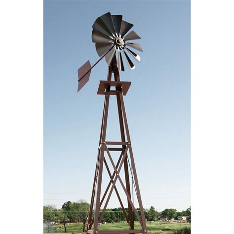 windmill backyard outdoor water solutions 174 small galvanized ornamental