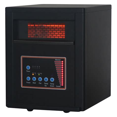 comfort glow heaters comfort glow qde8600 infrared electric heater portable
