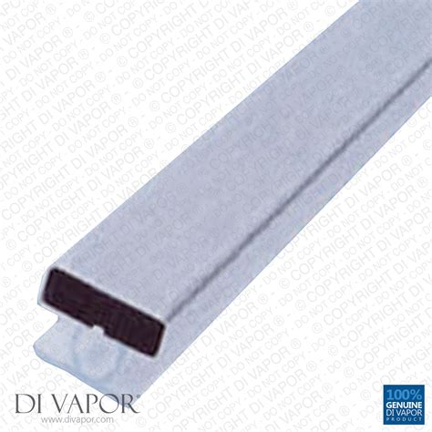 magnetic shower door di vapor r magnetic shower door channel seal 6mm 8mm