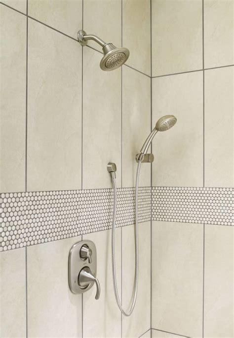 Brushed Nickel Shower by Faucet 600sbn In Brushed Nickel By Moen
