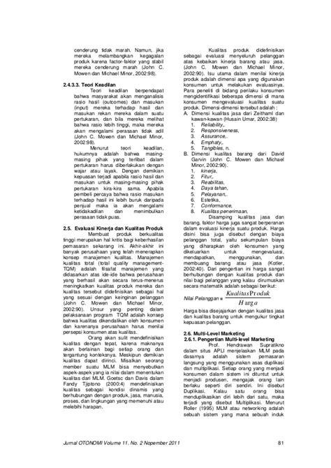 Perilaku Konsumen 2 Mowen Minor jurnal otonomi volume 11 no 2 nopember 2011