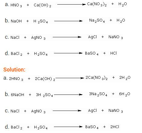 balancing chemical equations grade 9 chemical reactions
