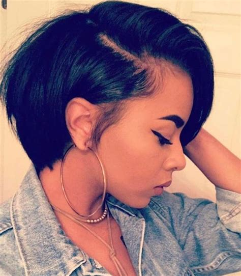 african american hair cuts real short on onw side longer on the orher side 74 best bob wigs images on pinterest braids weaving and