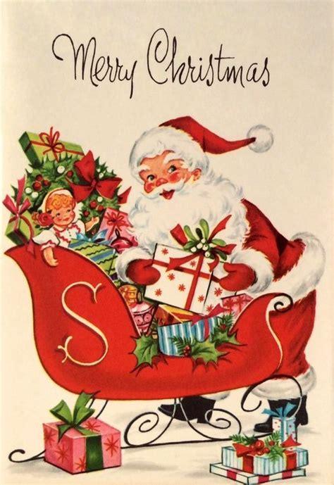 pin  aletia thompson  christmas  vintage christmas cards vintage christmas