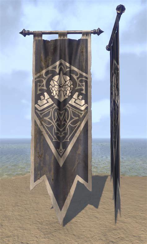 eso fashion undaunted banner elder scrolls