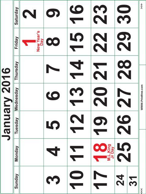 printable calendar 2016 printfree printfree calendar 2016 calendar template 2016