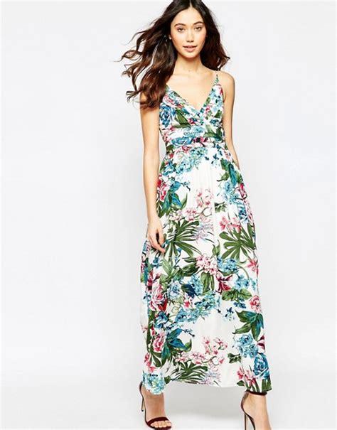 Maxi Iska iska iska tropical print maxi dress