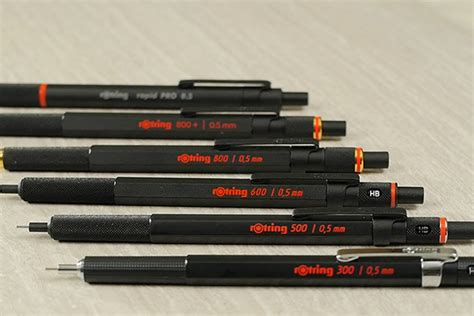 Rotring 500 Drafting Pencil 0 5 Mm Black Aif612 1 rotring 500 drafting pencil 0 5 mm jetpens