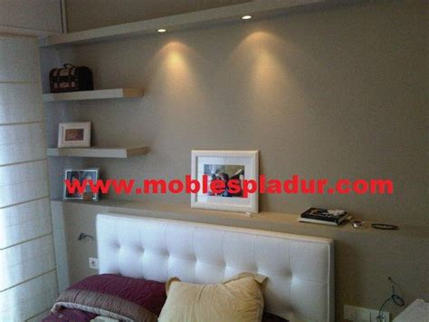 estantes de pladur pladur barcelona estantes de pladur para cabezal de cama