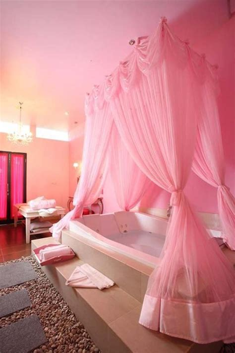 pink bathtub pretty in pink home on pinterest hot pink hot pink