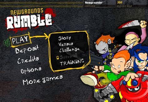 ne cgrounds newgrounds rumble