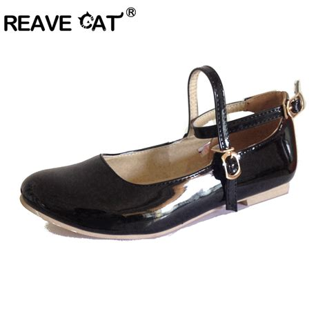 Flat Shoes Oe 17 aliexpress buy reave cat big size 30 47 us16 new sweet flat shoes flats
