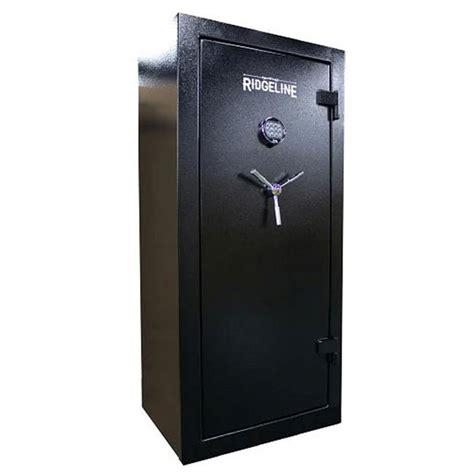 Small Home Gun Safe Ridgeline Blackhawk Safe And Vault 26 Gun Safe Black