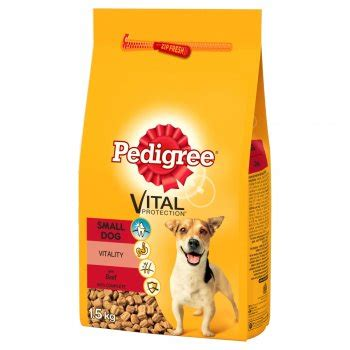 Pedigree Small Breed 1 5 Kg pedigree small breed food beef veg 1 5kg feedem