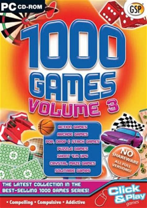 1000 unlimited free full version pc games download free download 4 all full version pc game 1000 games volume 3