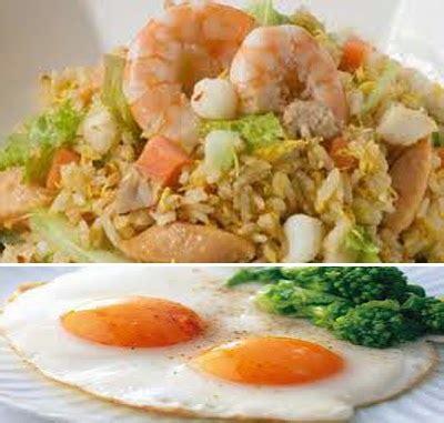 membuat nasi goreng untuk 1 porsi nasi goreng hongkong sensasi seafood resep masakan