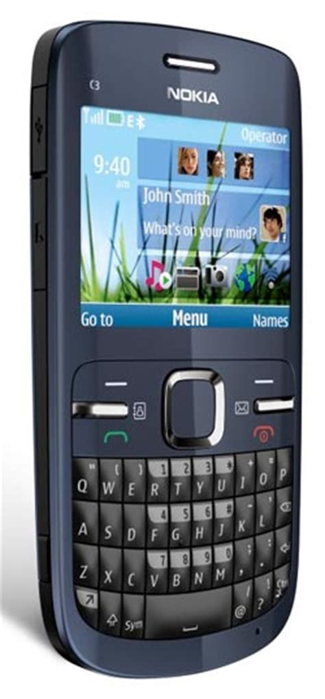 nokia c3 qwerty themes amazon com nokia c3 00 unlocked cell phone slate with