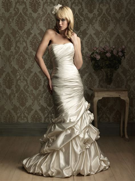 for dress shopping wear tight fitting wedding gowns