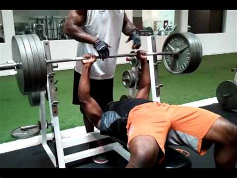 405 lb bench press az cardinals de olb sam acho 405 bench press youtube