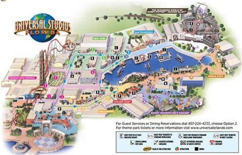 map of universal studios universal park map my