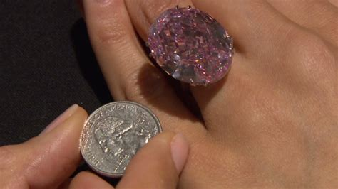 Up close with the $83 million diamond   Video   Personal