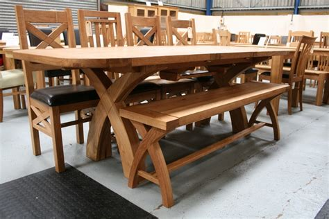 oak dining table with bench antique oak dining room tables and chair set