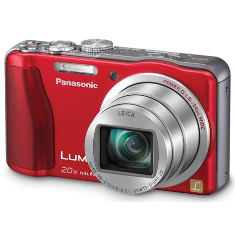 dc red light camera locations panasonic lumix dmc zs20 digital camera red dmc zs20r b h
