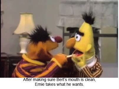 ernie gif find & share on giphy