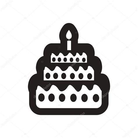 imagenes para cumpleaños blanco y negro tarta de cumplea 241 os estilo icono blanco y negro con velas