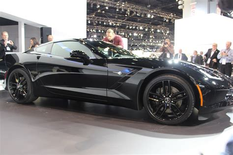 this is the black widows corvette stingray from captain my adventure in the black widow chevrolet corvette