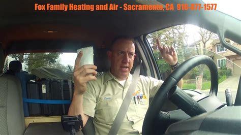 vlog ac and furnace tune up debriefing sacramento hvac