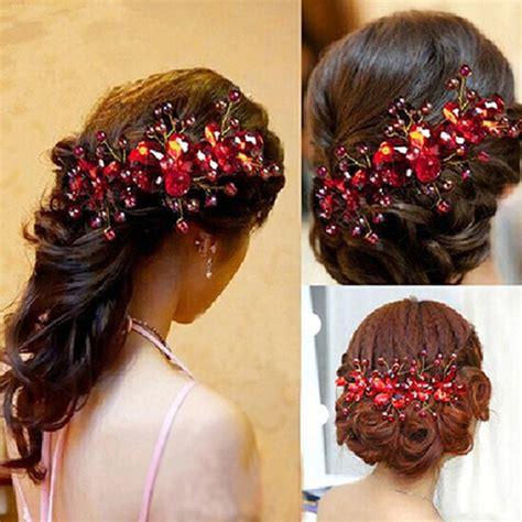 Handmade Wedding Jewellery - new design flower wedding bridal hair jewelry